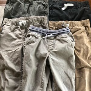 Boys size 4 pants bundle steel